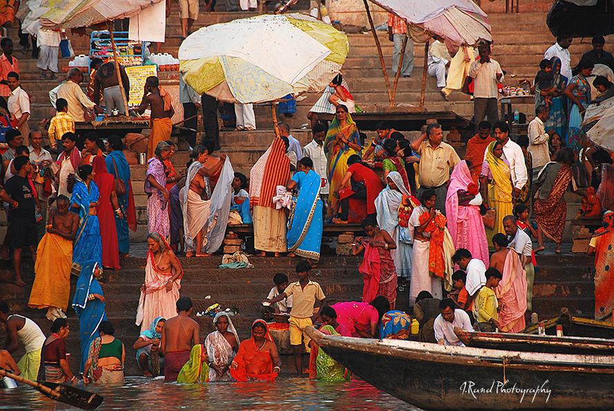 Varanasi, Ganges River India