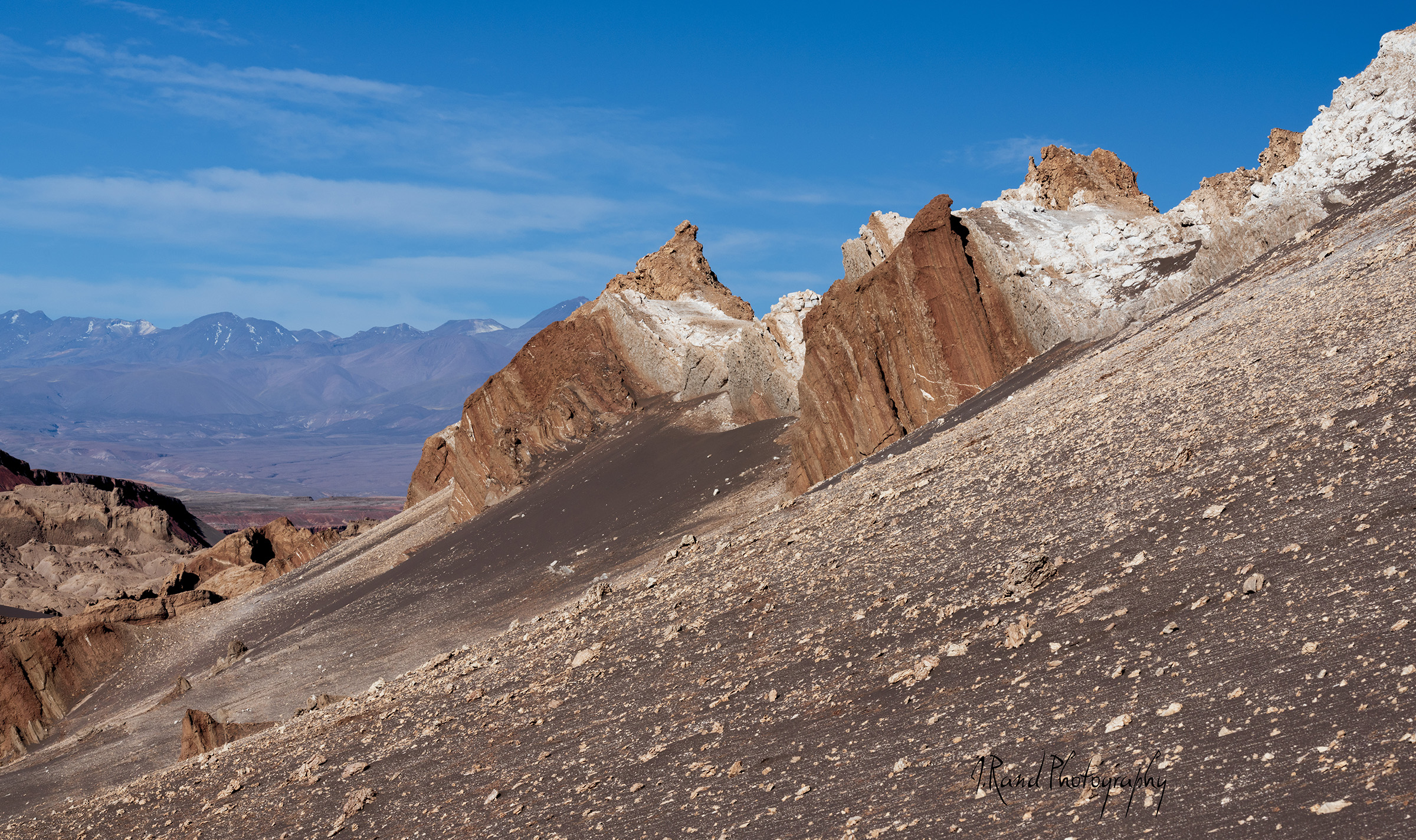 Moon Valley, Atacama Desert, Chile